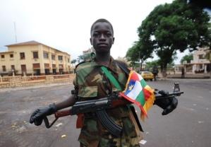 Child soldier Seleka